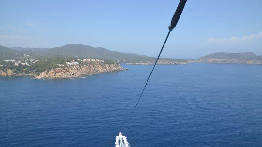 parasailing ski pepe watersports ibiza vista parasailing de escanar