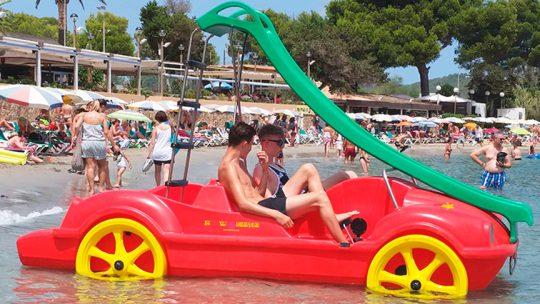 pedal boat de ski pepe watersports en Es canar, Ibiza